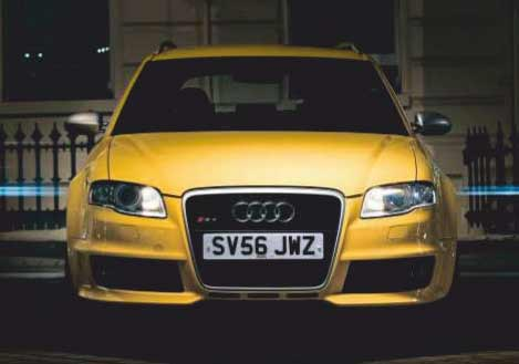 2006 Audi RS4 B7 - road test