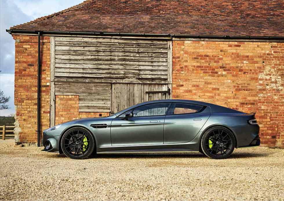 2020 Aston Martin Rapide AMR - road test