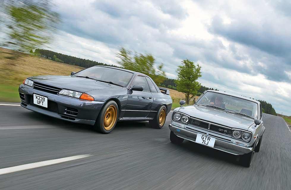 1970 Nissan Skyline 2000GT-R VS. Nissan Skyline R32 GT-R 1989