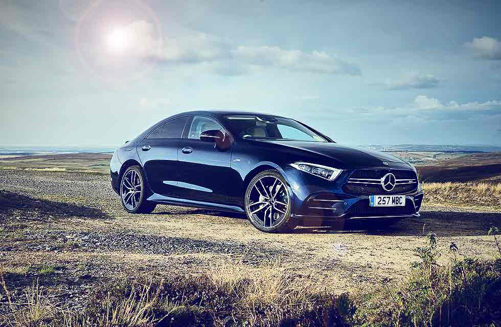 2020 Mercedes-AMG CLS53 4Matic+ 9G-Tronic