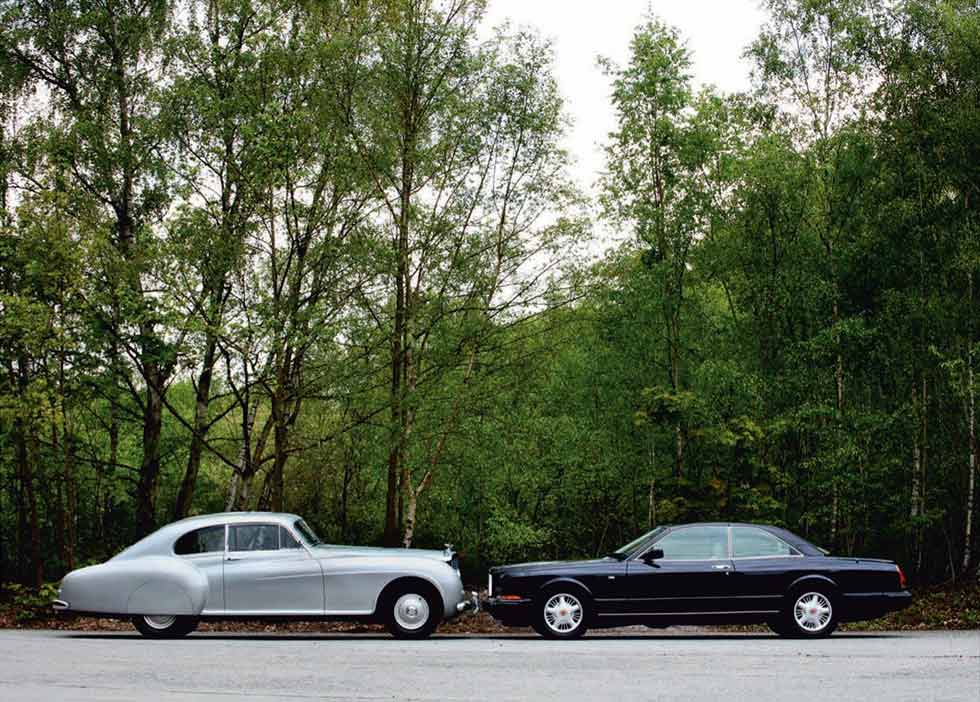 1952 Bentley R-Type Continental vs. 1991 Bentley Continental R