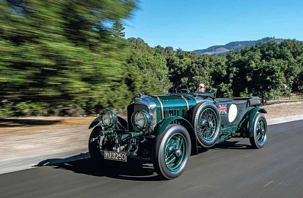 1928 Bentley 4 ½ litre 'Blower' - road test