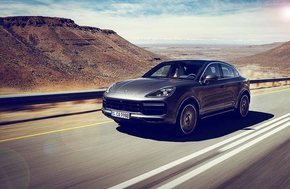 2020 Porsche Cayenne Turbo Coupé PO536 - road test