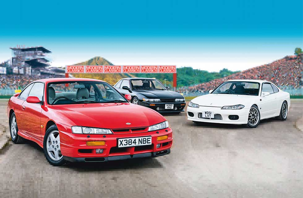 Silvia and away: S13, S14 and S15 tested