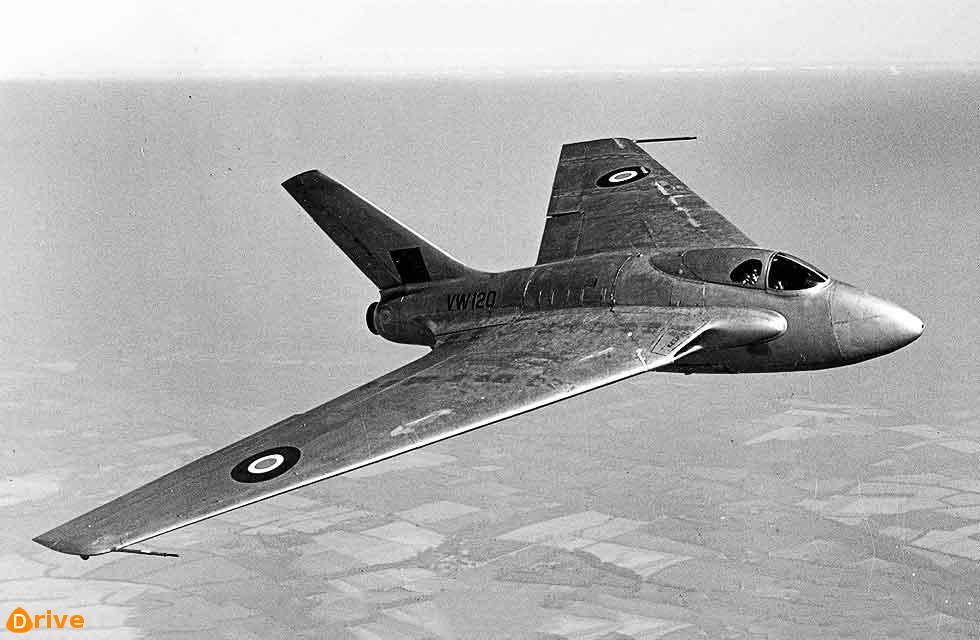 De Havilland DH108 Swallow VW120 air to air