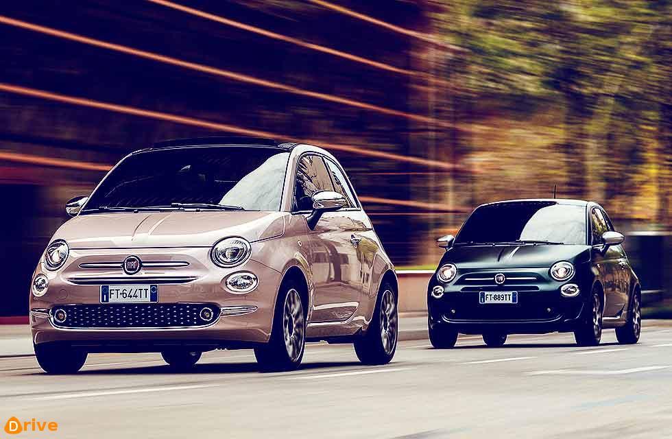 New Fiat 500 Star and Rockstar