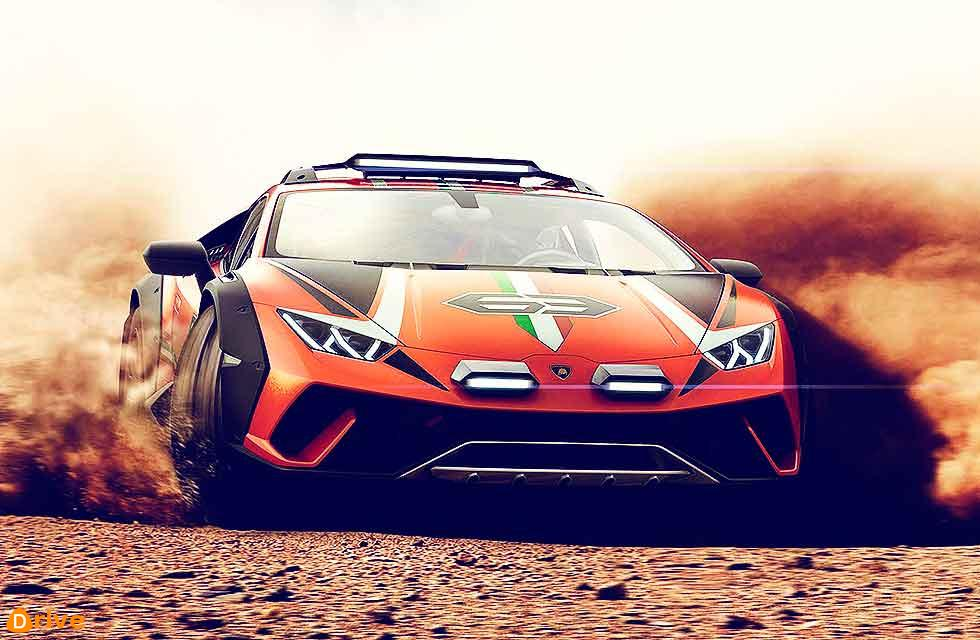 Sterato takes Huracan off-road