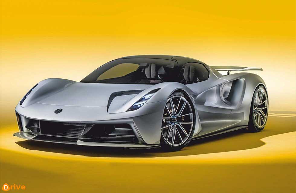 All-electric Evija slingshots Lotus into the future