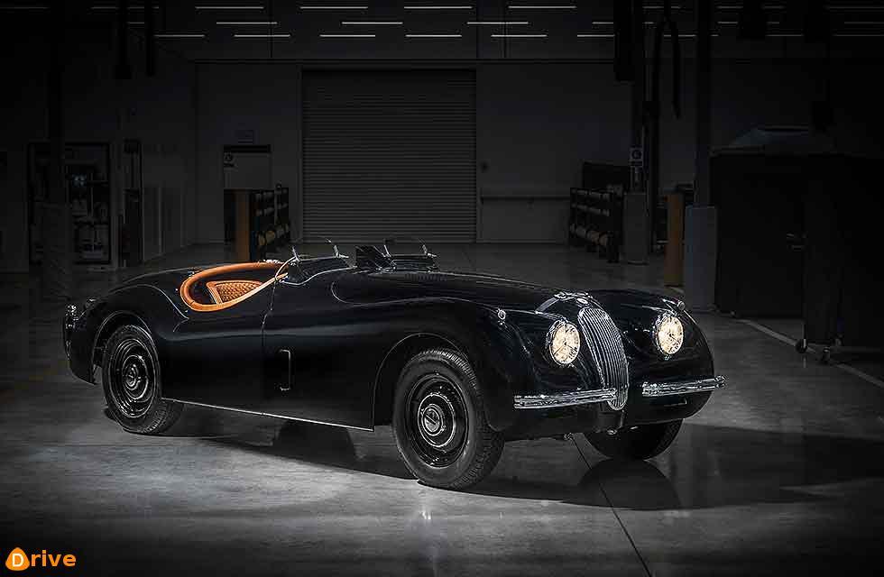 Jaguar Classic creates Tailor-made 2019 XK120 for male model David Gandy