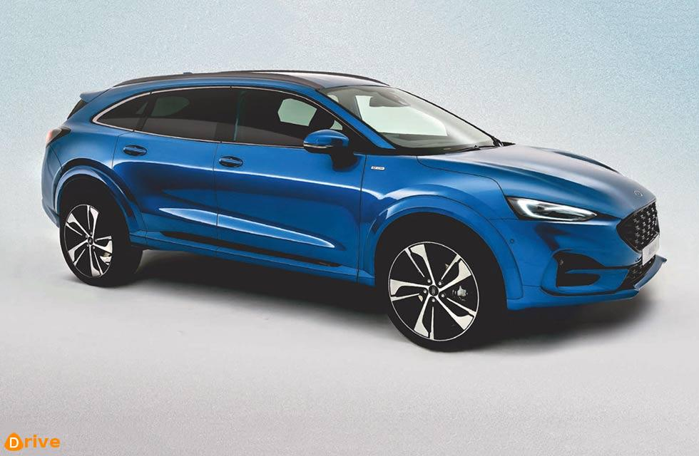 2021 Ford Mondeo reborn as crossover