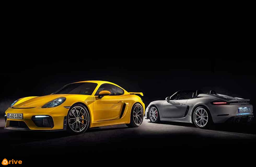 Porsche finds its six pack