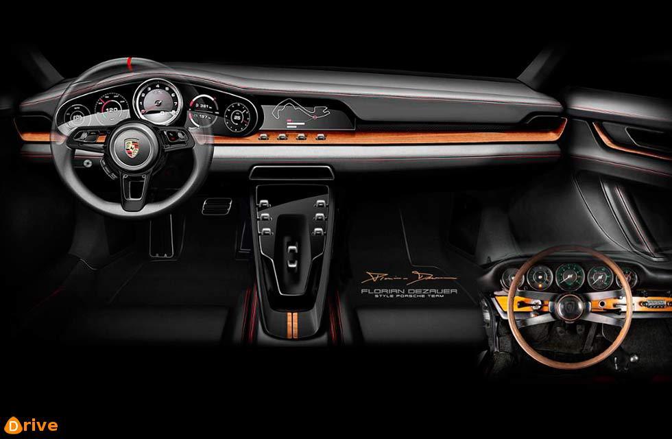 Porsche Heritage Design Strategy: re-interpreting classic design elements