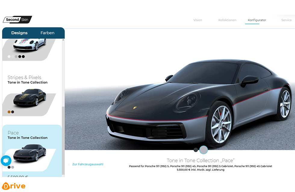 Porsche Digital announces online platform for vehicle livery design