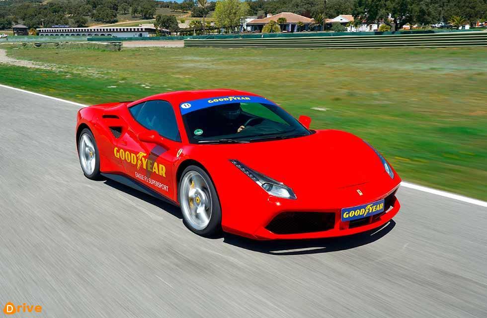 488 GTB at the Ascari circuit in Spain