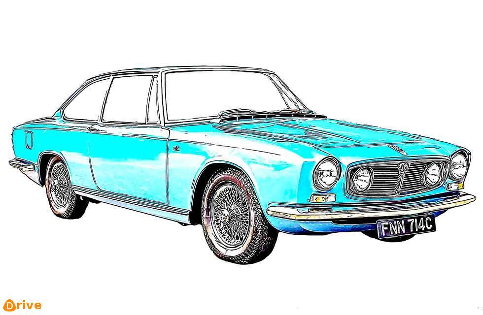 1966 Frua S-Type: Unique, Rebodied Jaguar Saloon
