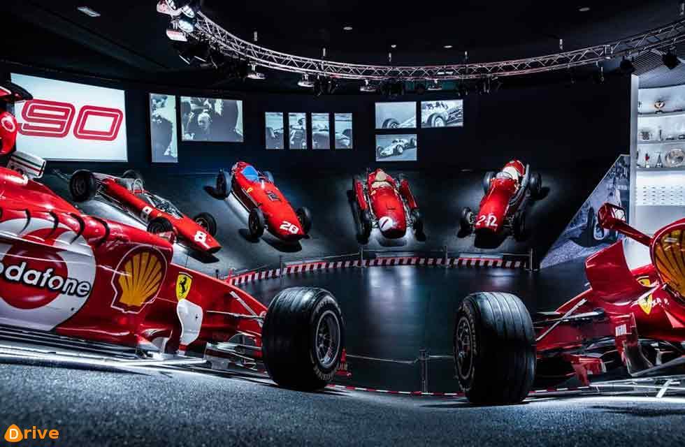 "Scuderia Ferrari celebrates ""90 Years Exhibition"""