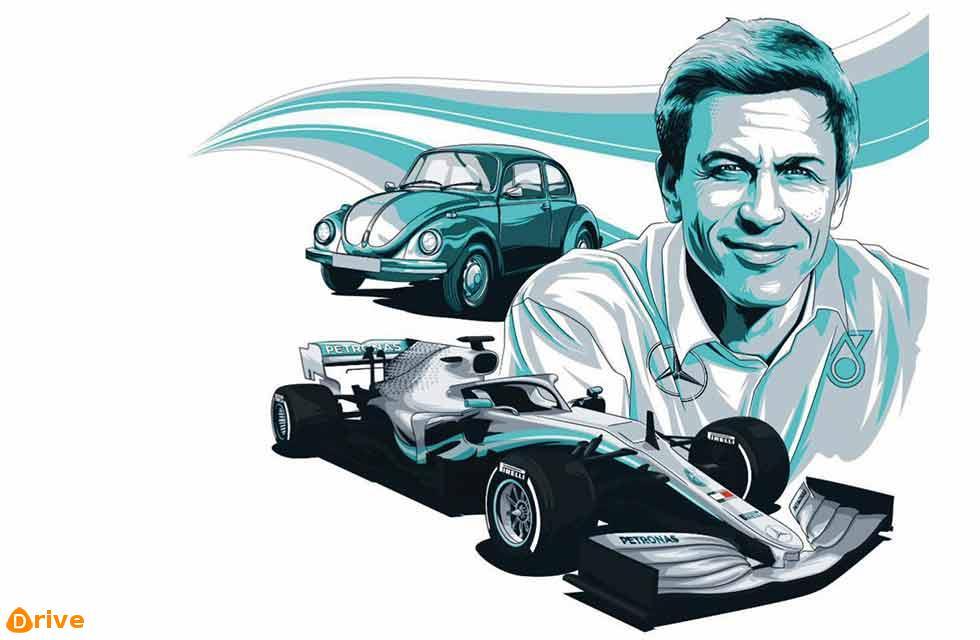 Toto Wolff Mercedes-AMG F1 team boss
