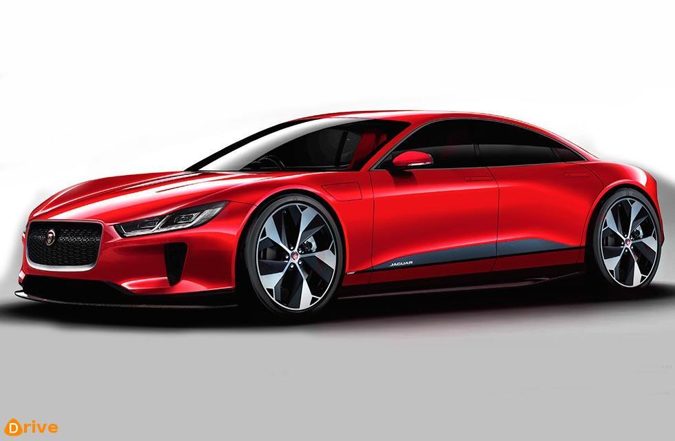 All electric 2021 Jaguar XJ