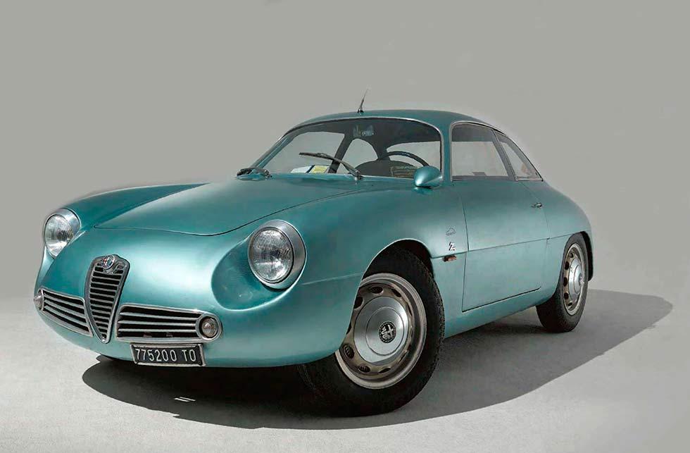 1960 Alfa-Romeo Giulietta SZ Type 101
