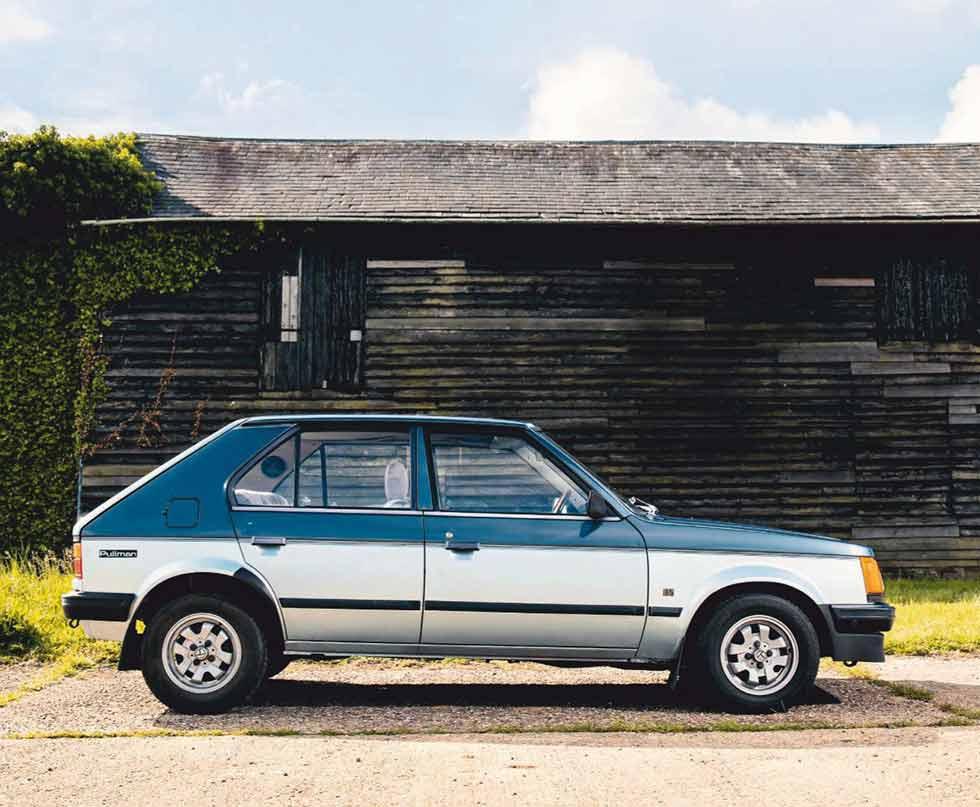 B667 UBP  / UK / 1984 Talbot Horizon Pullman 1.5