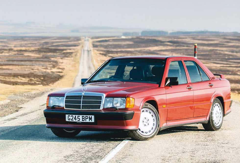 1988 Mercedes-Benz 190E 2.5-16 W201 / G245 BPM - UK-reg / - road test