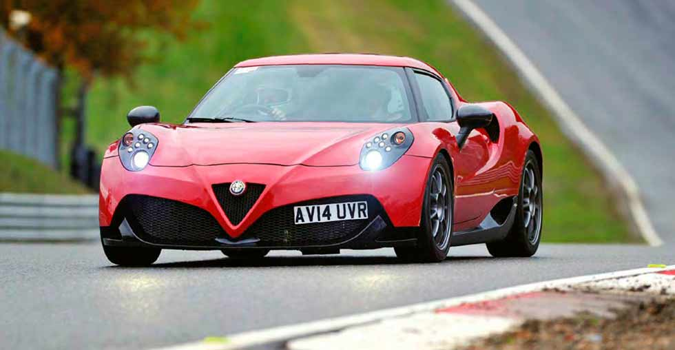 2019 Alfa Romeo 4C Type 960 AlfaWorks