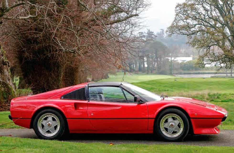 2019 Ferrari 308 'GTE' - 450hp electric Tesla engined conversion