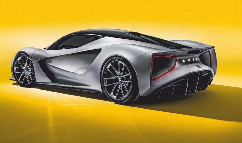 2019 Lotus Evija - 2000hp Electric Supercar