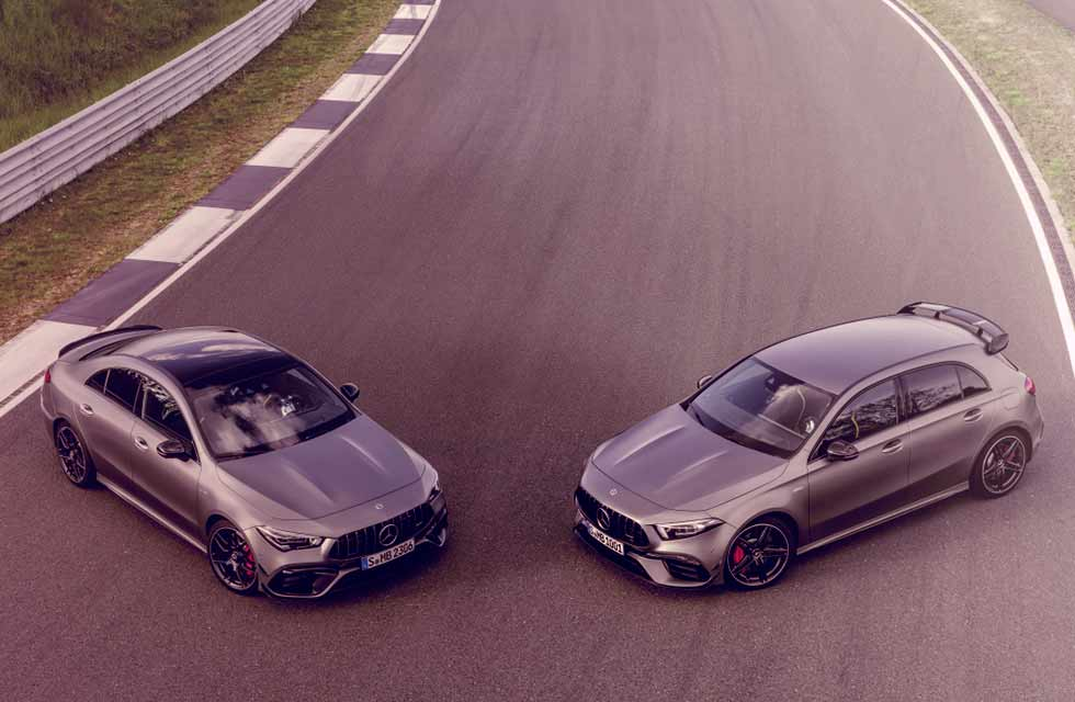 AMG - Mercedes-Benz-CLA45 C118 and A45 W177