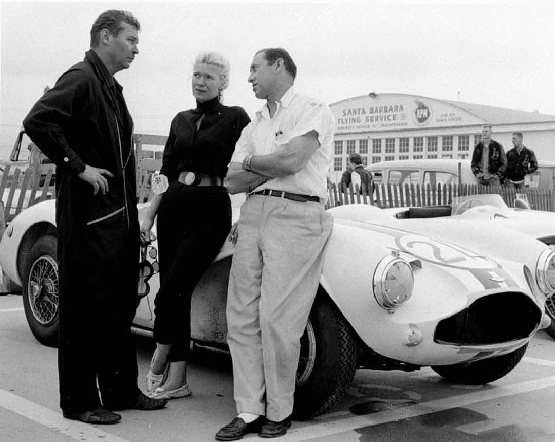 Racing Driver Mary Davis