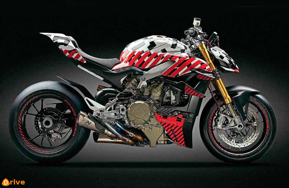 Winged Ducati V4 Streetfighter revealed