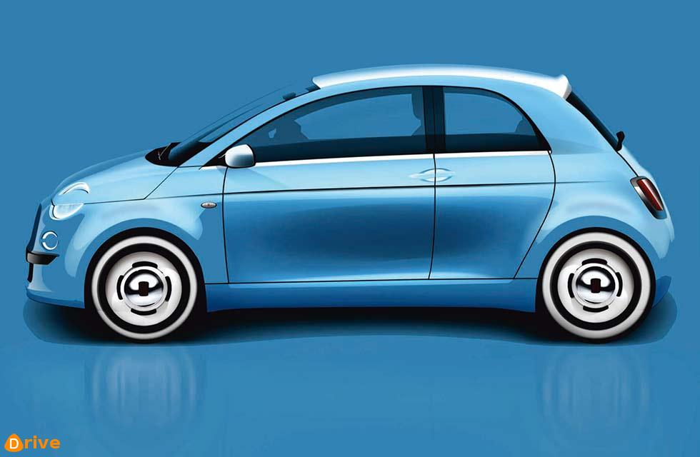 All-electric Fiat 500
