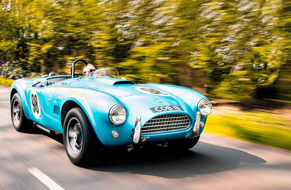 1964 Shelby Cobra 'Blue Demo'