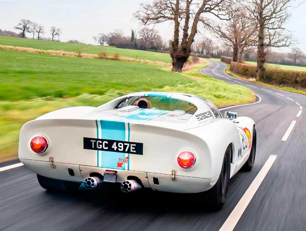 1968 Porsche 910 - road test
