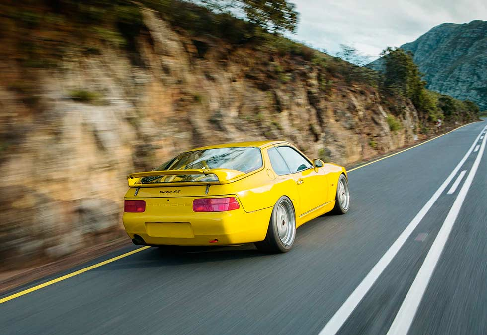 1993 Porsche 968 Turbo RS - road test