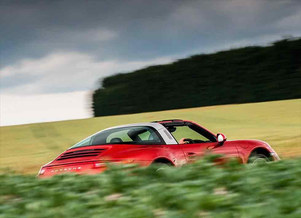 Dean Smith 2014 Porsche 911 Targa 4 991