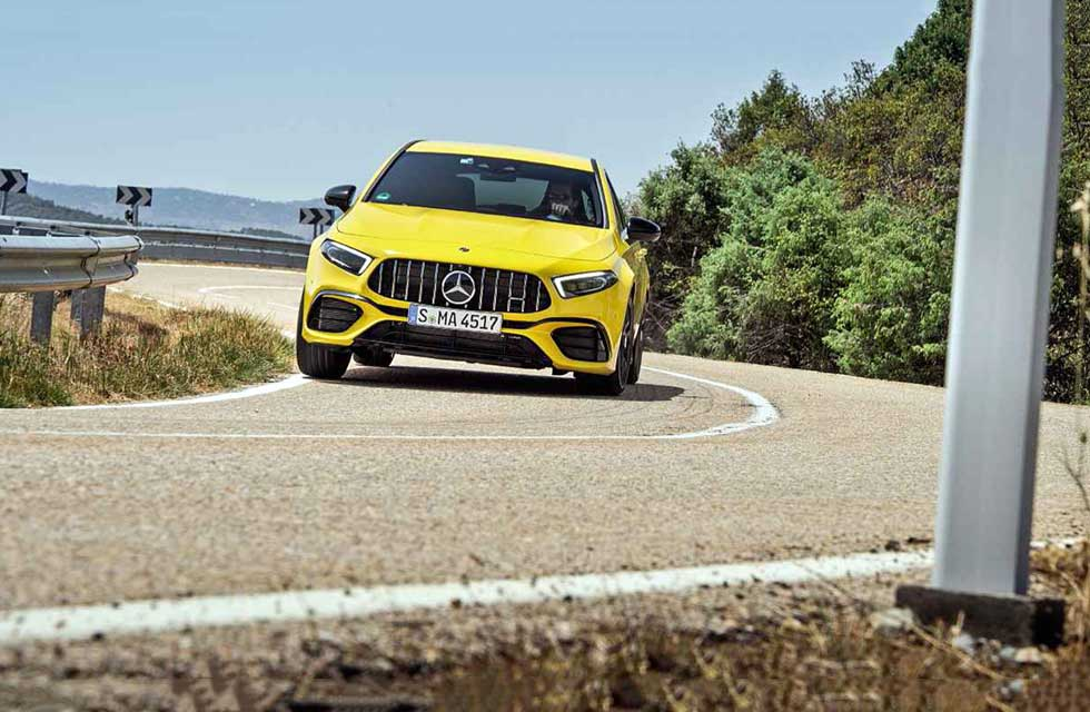 2020 Mercedes-AMG A45 S 4Matic+ W177 - road test