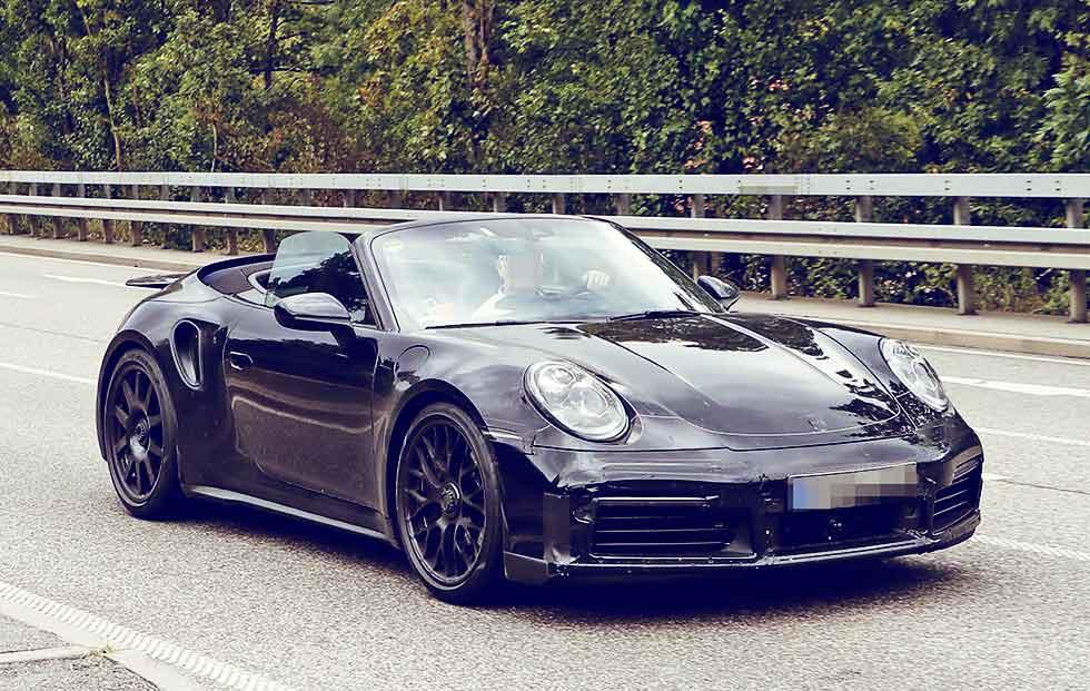 2020 Porsche 911 Turbo Cabriolet 992