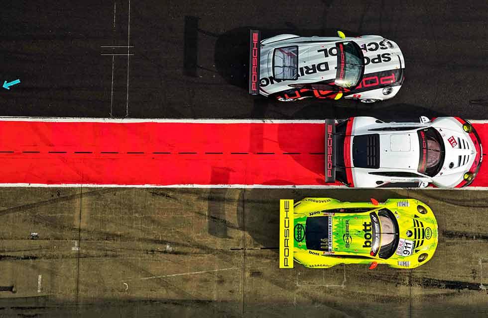 Porsche 911 RSR 991, GT3 R 991 & GT3 Cup 991