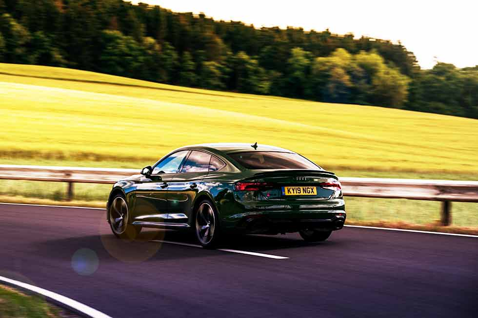2020 Audi RS5 Sportback B9/8W6 - road test