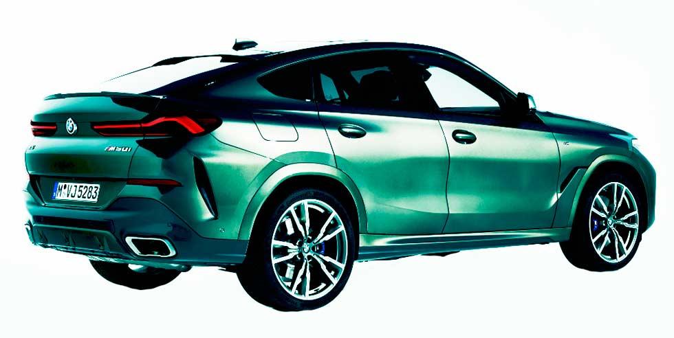2020 BMW X6 M50i G06