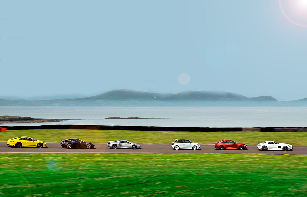Future icons - 2018 Audi A1 quattro 8X vs. 2018 BMW M2 Competition F87, 2013 Mercedes-Benz SLS 63 AMG Black Series C197, 2011 McLaren MP4-12C, 2009 Aston Martin V12 Vantage and 2017 Porsche 911 Carrera T 991.2