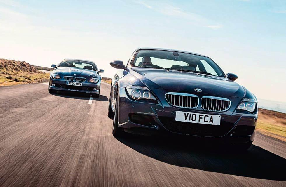 6 Series – naturally aspirated V10 or supercharged V8