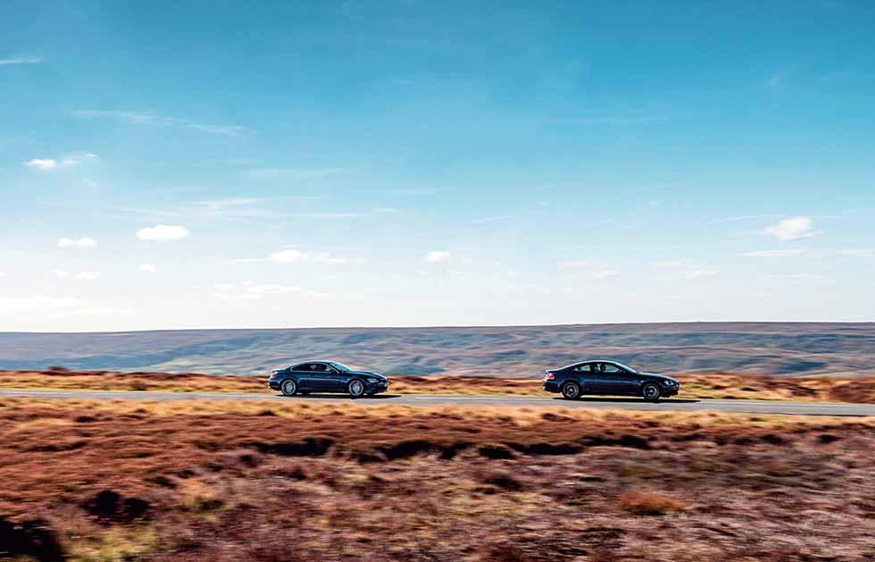 BMW M6 E63 vs. Alpina B6 S E63 - comparison road test