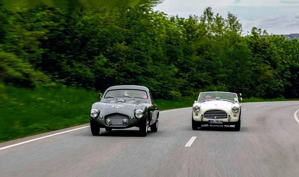 Jordana Schramm - 1950s Bristol-engined sports cars compared - 1954 Frazer Nash Le Mans Coupe VS. 1958 AC Ace Bristol