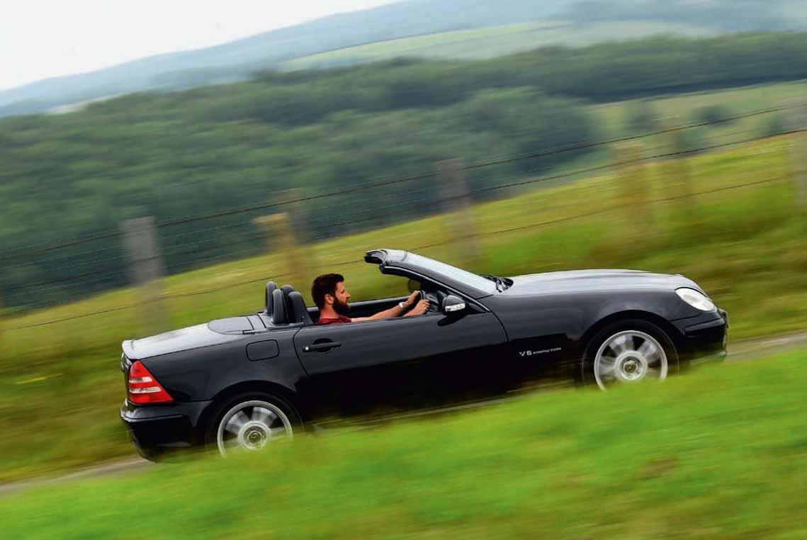 2001 Mercedes-Benz SLK32 AMG R170