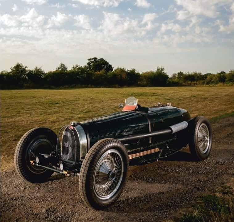 Tony Baker / Grand Prix Bugatti Type 59
