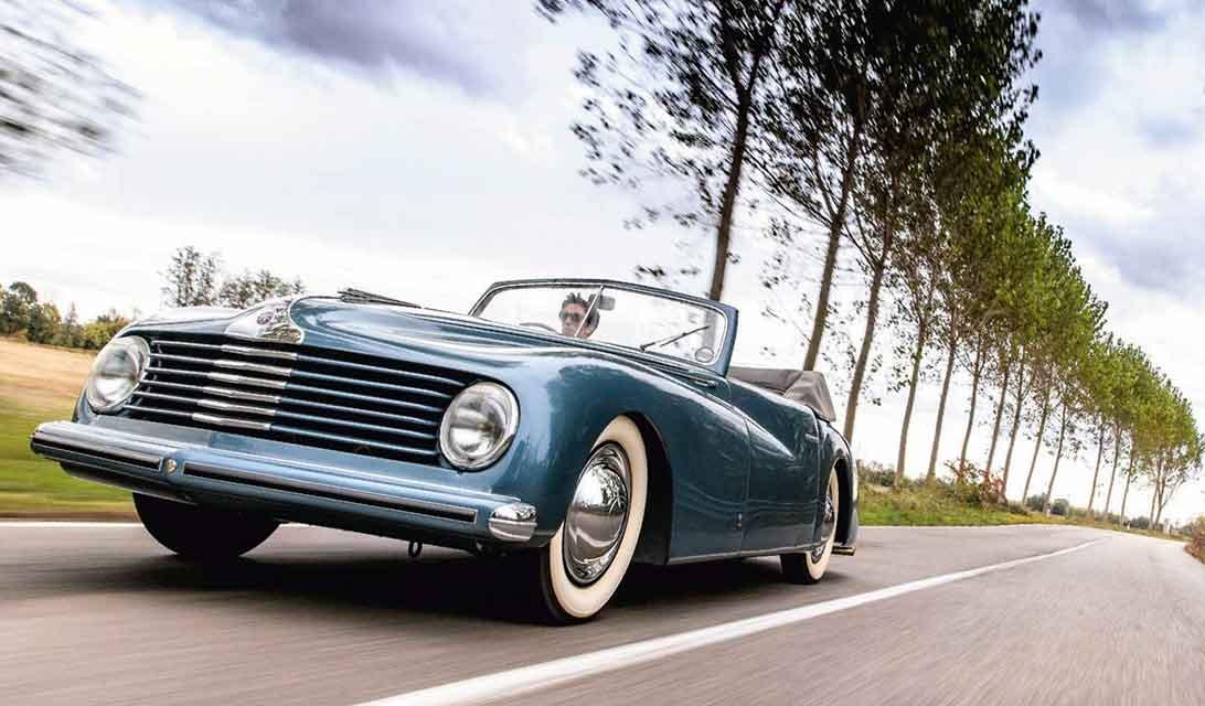 1947 Alfa Romeo 6C 2500 S Cabriolet Extra Lusso by Stabilimenti Farina