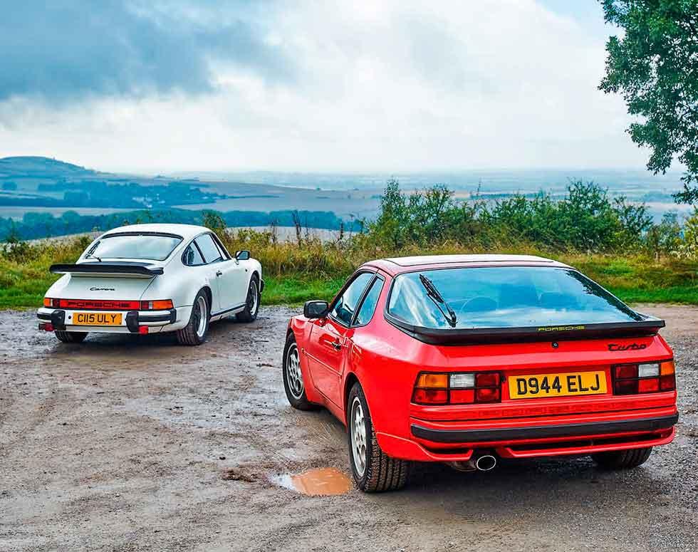 1986 Porsche 944 Turbo vs 1986 Porsche 911 Carrera 3.2
