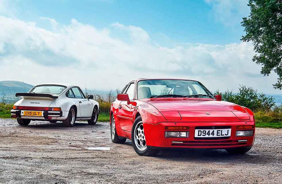 Porsche 944 Turbo vs 3.2 Carrera